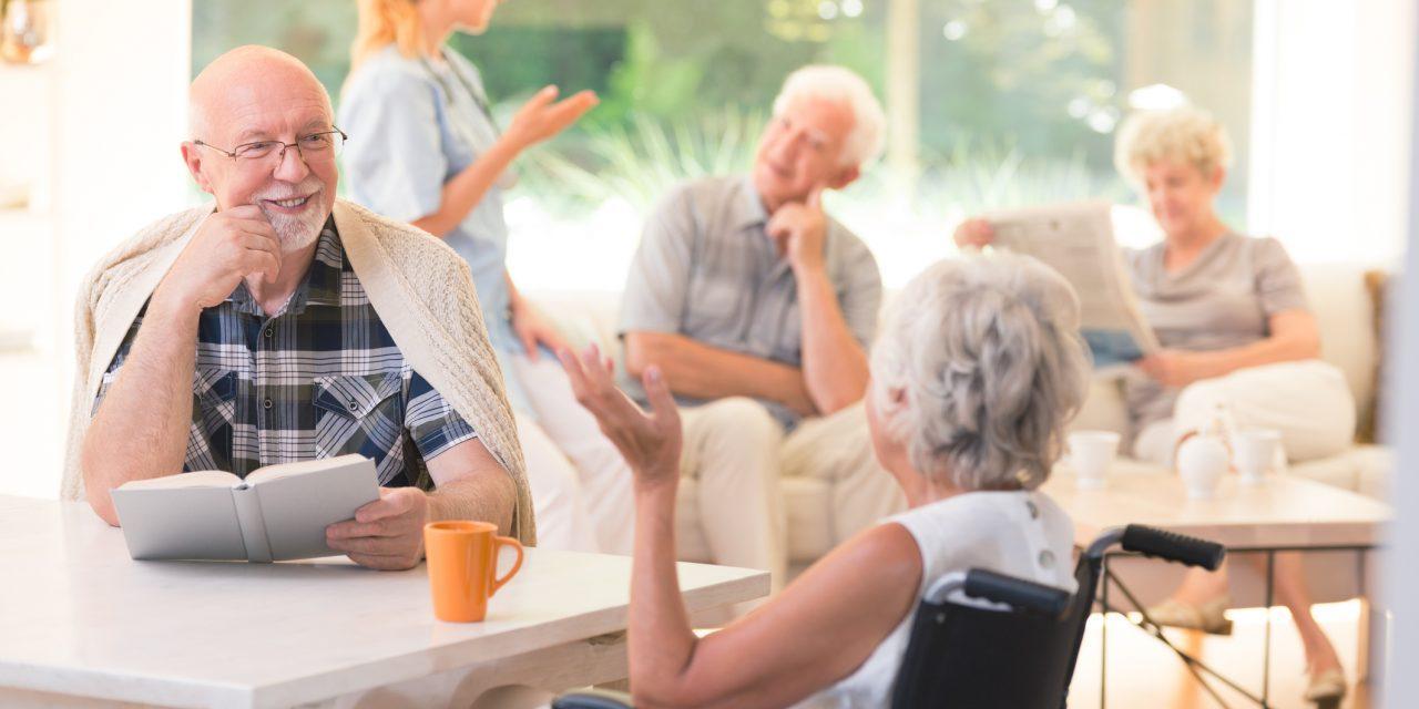 современный дом престарелых